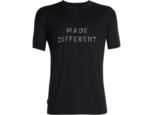 Icebreaker Tech Lite Made Different SS Crewe Shirt Herr black